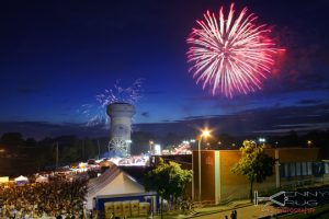 Village of Lancaster NY Fireworks prints Photographs